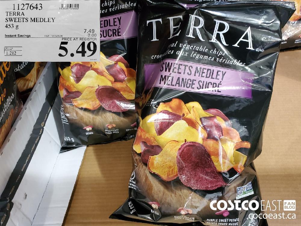 1127643 TERRA SWEETS MEDLEY 453 g EXPIRY DATE: 2021-02-28 $5.49
