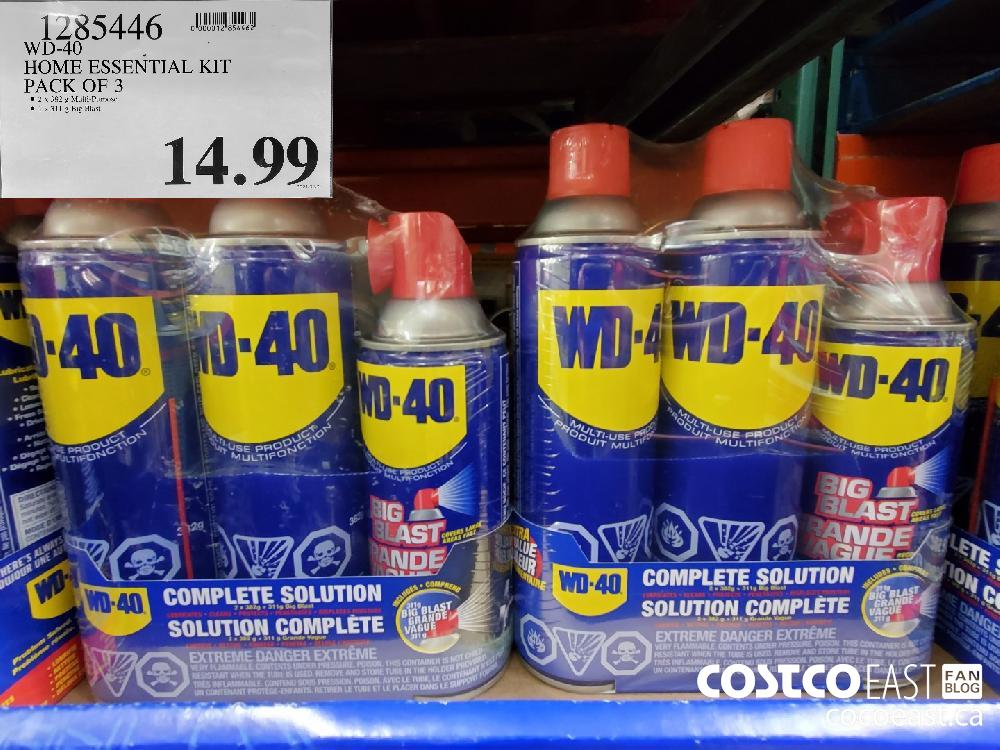 1285446 WD-40 HOME ESSENTIAL KIT PACK OF 3 $14.99