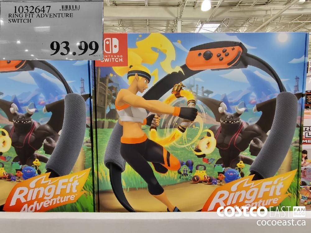1032647 RING FIT ADVENTURE SWITCH $93.99