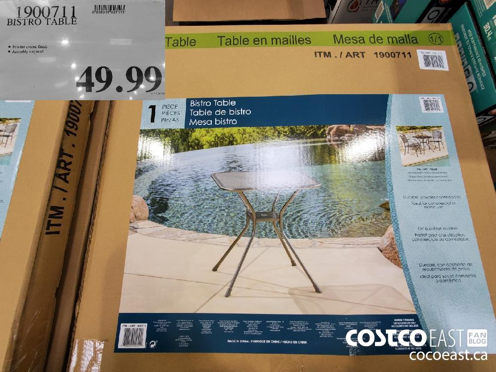 1900711 BISTRO TABLE $49.99