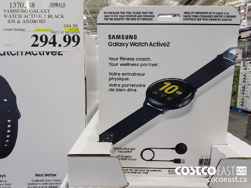 1370388 SAMSUNG GALAXY WATCH ACTIVE 2 BLACK IOS