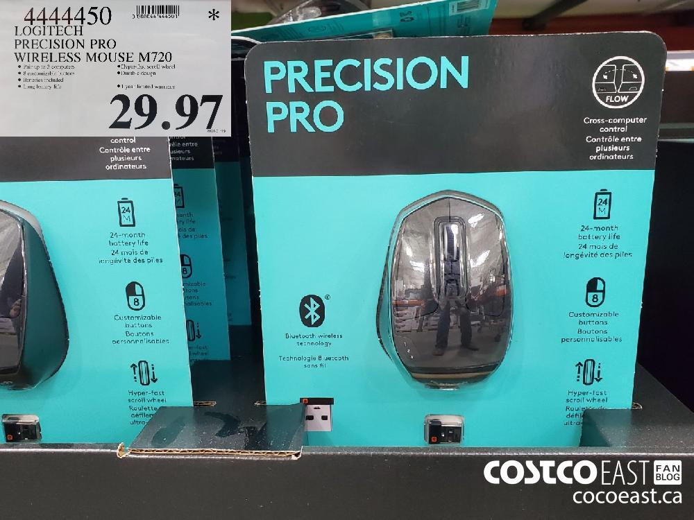 4444450 LOGITECH PRECISION PRO WIRELESS MOUSE M720 $29.97