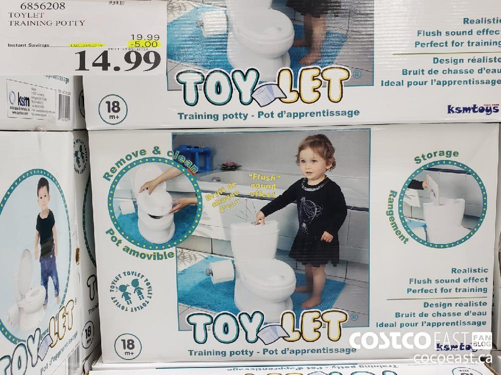 68560208 TOY LET TRAINING POTTY EXPIRY DATE: 2021-02-19 $14.99