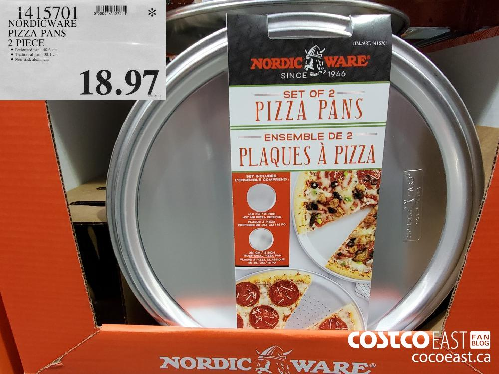 1415701 NORDICWARE PIZZA PANS $18.97