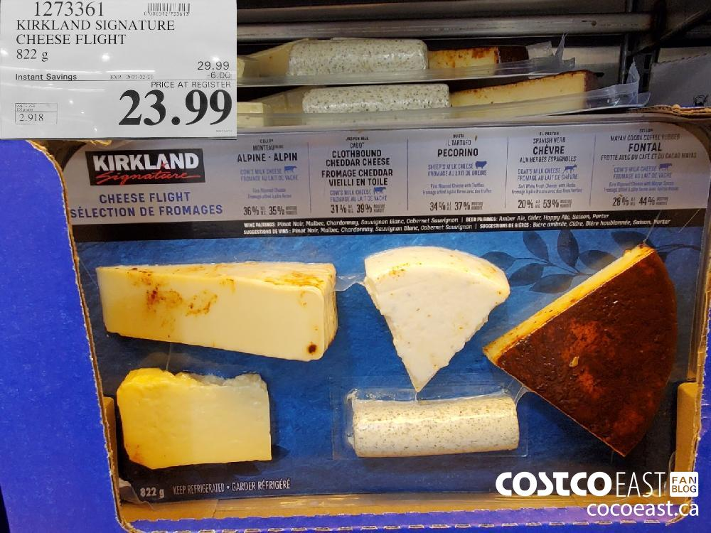 1273361 KIRKLAND SIGNATURE CHEESE FLIGHT 822 g EXPIRY DATE: 2021-02-21 $23.99
