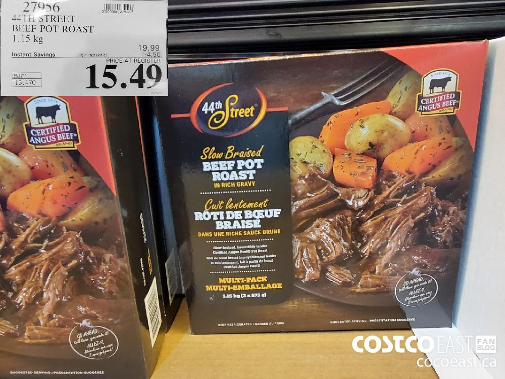 27956 44TH STREET : BEEF POT ROAST 1.15 kg EXPIRY DATE: 2021-02-21 $15.49