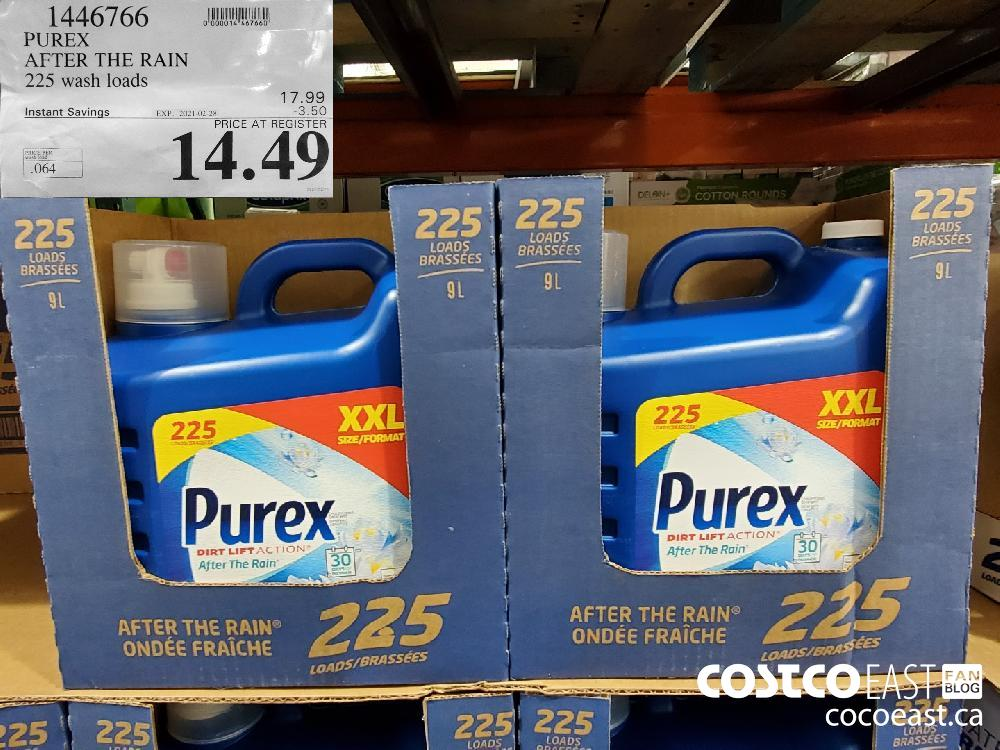1446766 PUREX AFTER THE RAIN 225 wash loads EXPIRY DATE: 2021-02-28 $14.49