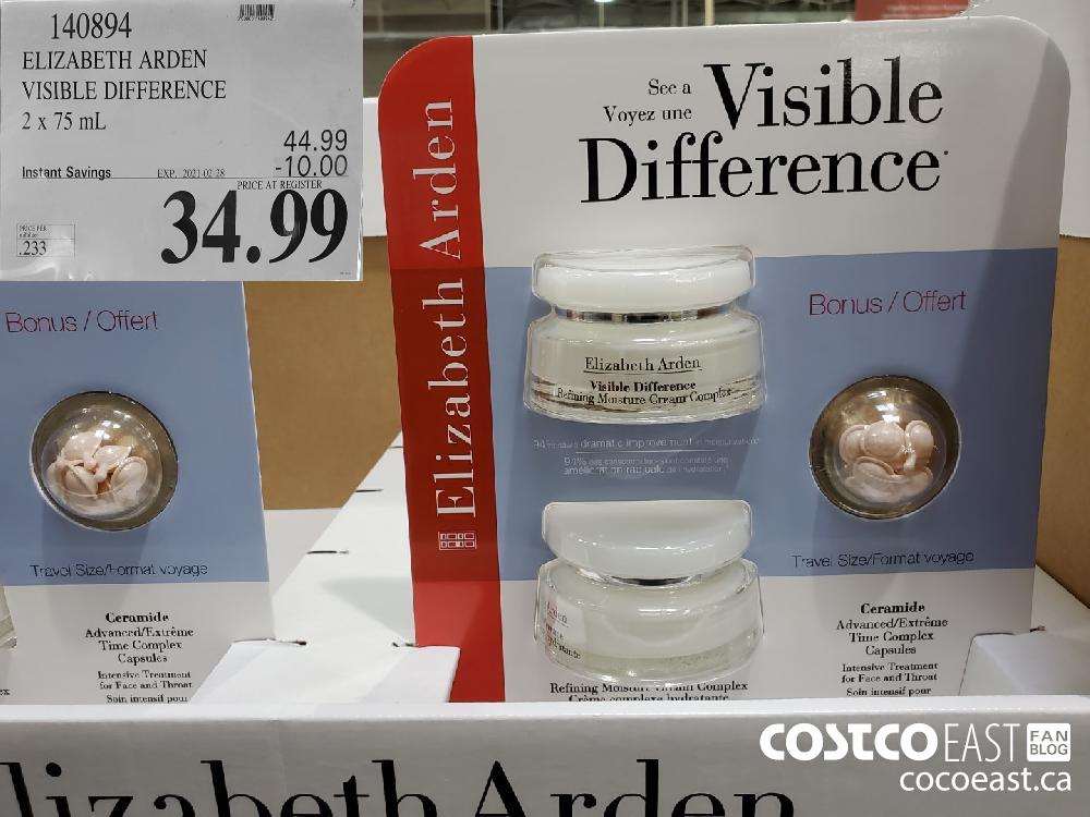 140894 ELIZABETH ARDEN VISIBLE DIFFERENCE EXPIRY DATE: 2021-02-28 $34.99