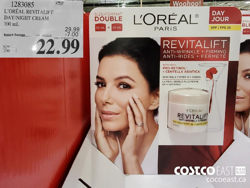 1283085 L'OREAL REVITALIFT DAY/NIGHT CREAM 100 mL EXPIRY DATE: 2021-02.28 $22.99