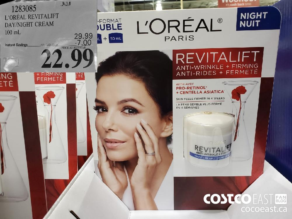 1283085 L'OREAL REVITALIFT DAY/NIGHT CREAM 100ML EXPIRY DATE: 2021-02-28 $22.99