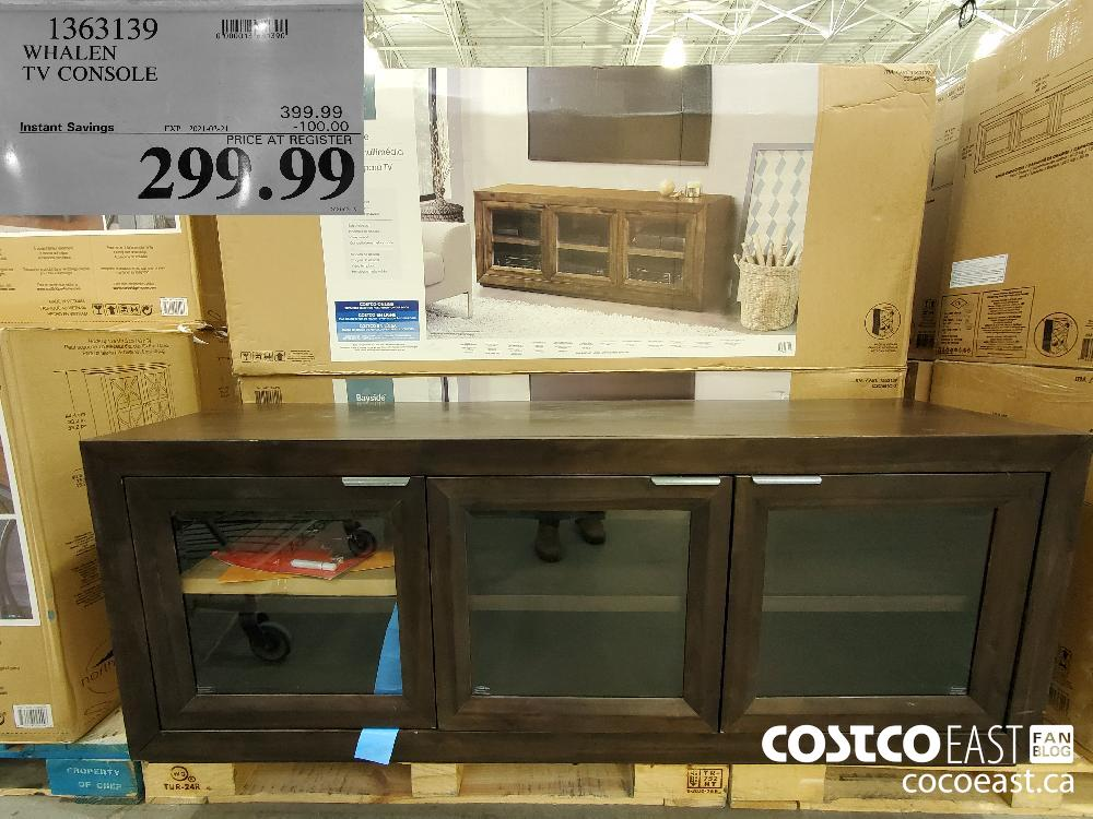 1363139 WHALEN TV CONSOLE EXPIRY DATE: 2021-02-21 $299.99