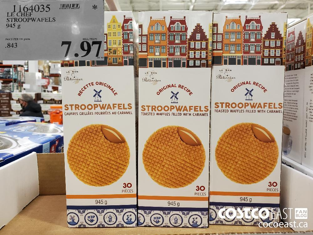 1164035 LE CHEF STROOPWAFELS 945 g $7.97