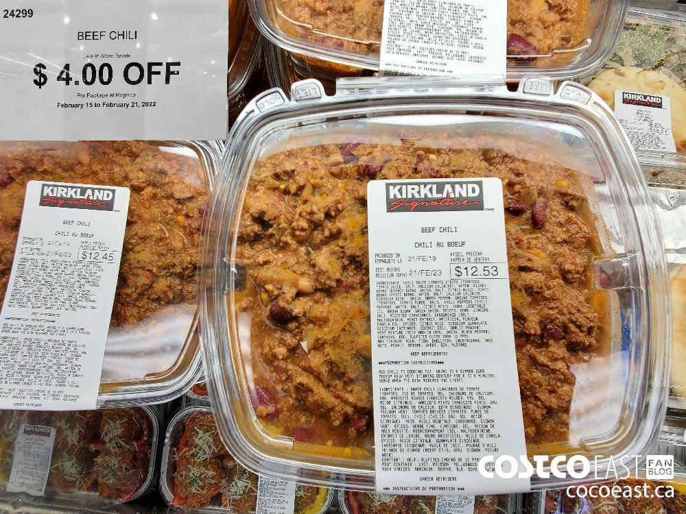 24299 BEEF CHILI $4.00 OFF February 15 to February 21 2022