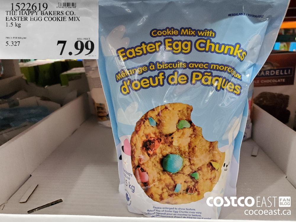 1522619 THE HAPPY BAKERS CO. EASTER EGG COOKIE MIX 1.5 kg $7.99