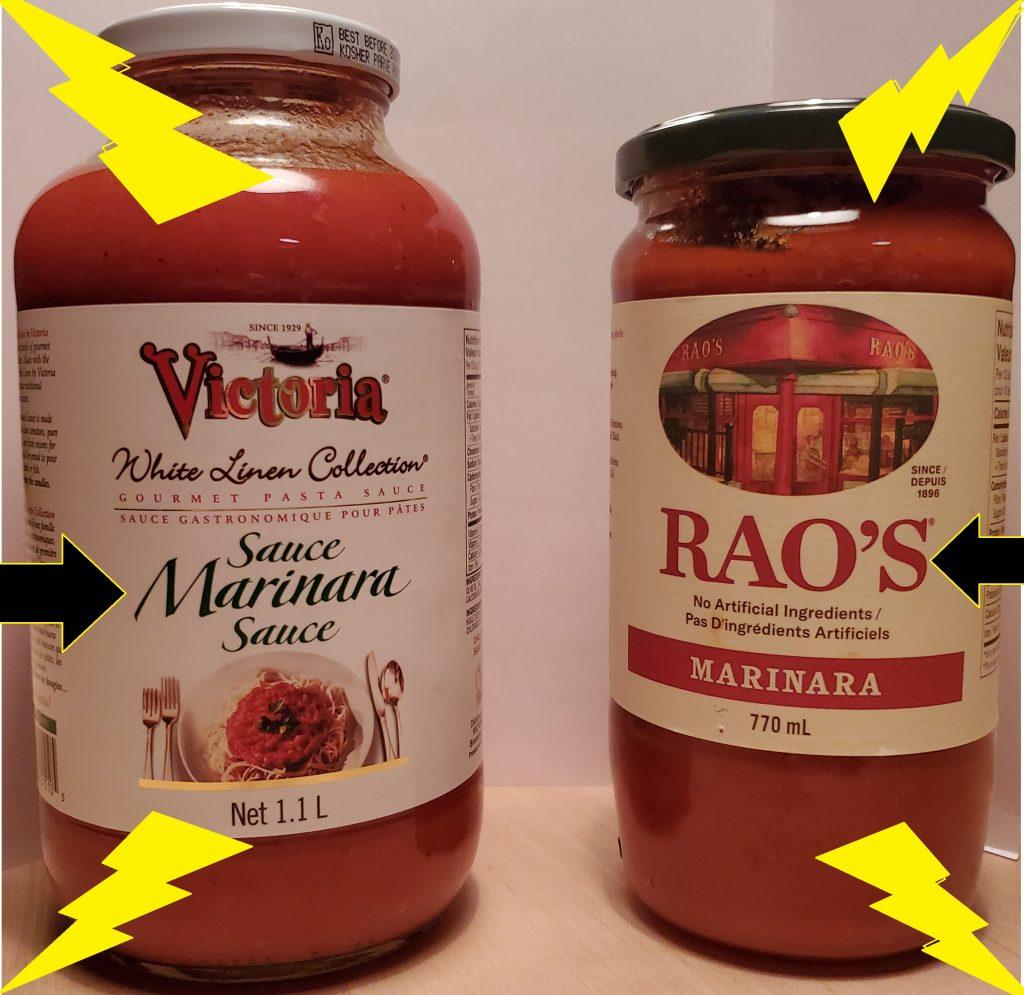 Rao's vs. White linen