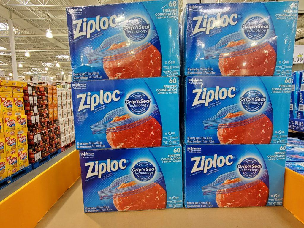 ziploc medium freezer bags