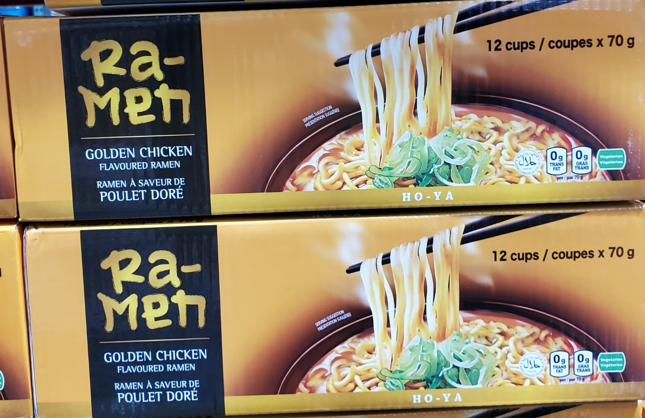 ho-ya golden chicken ramen