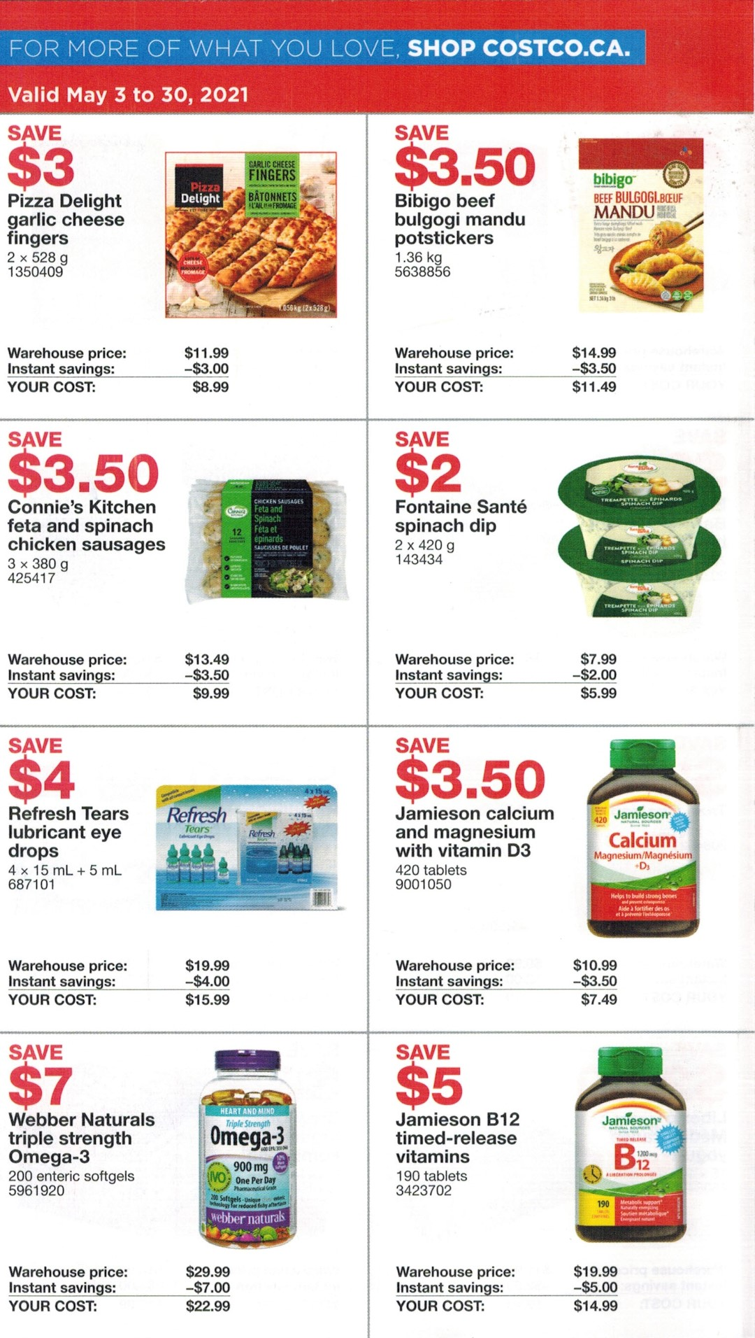 Costco Canada Flyer Preview May 3rd - 30th 2021