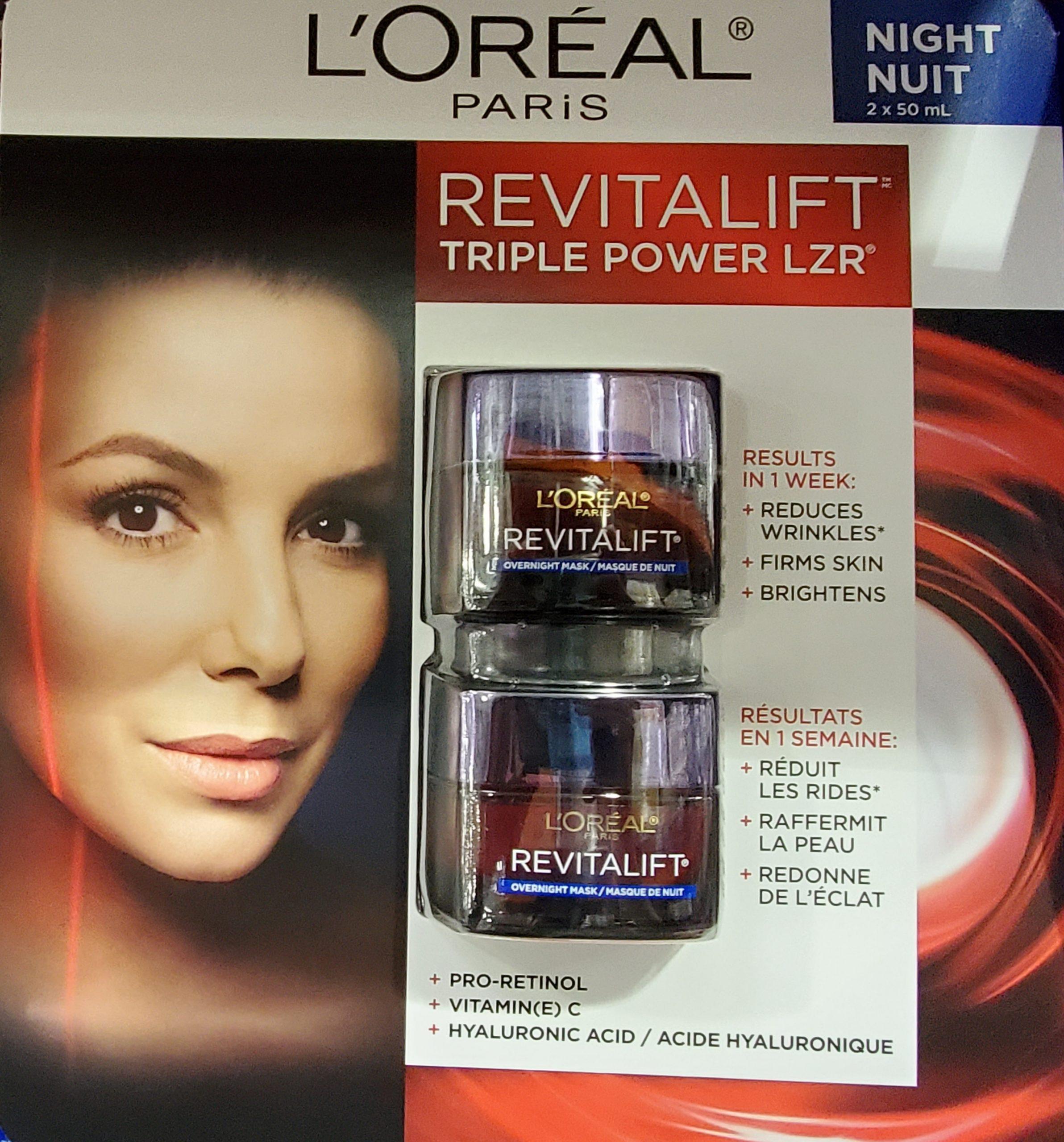 L'Oréal Revitalift Triple Power LZR Day Moisturizer