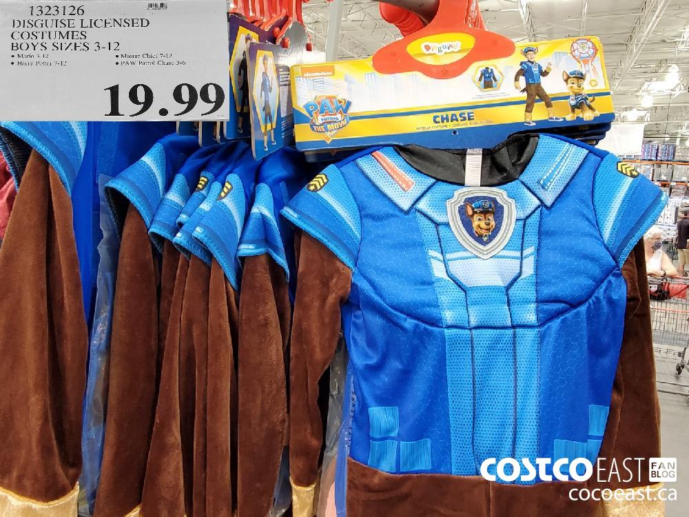 1323126DISGUISE LICENSED COSTUMES BOYS SIZES 3-12 $19.99