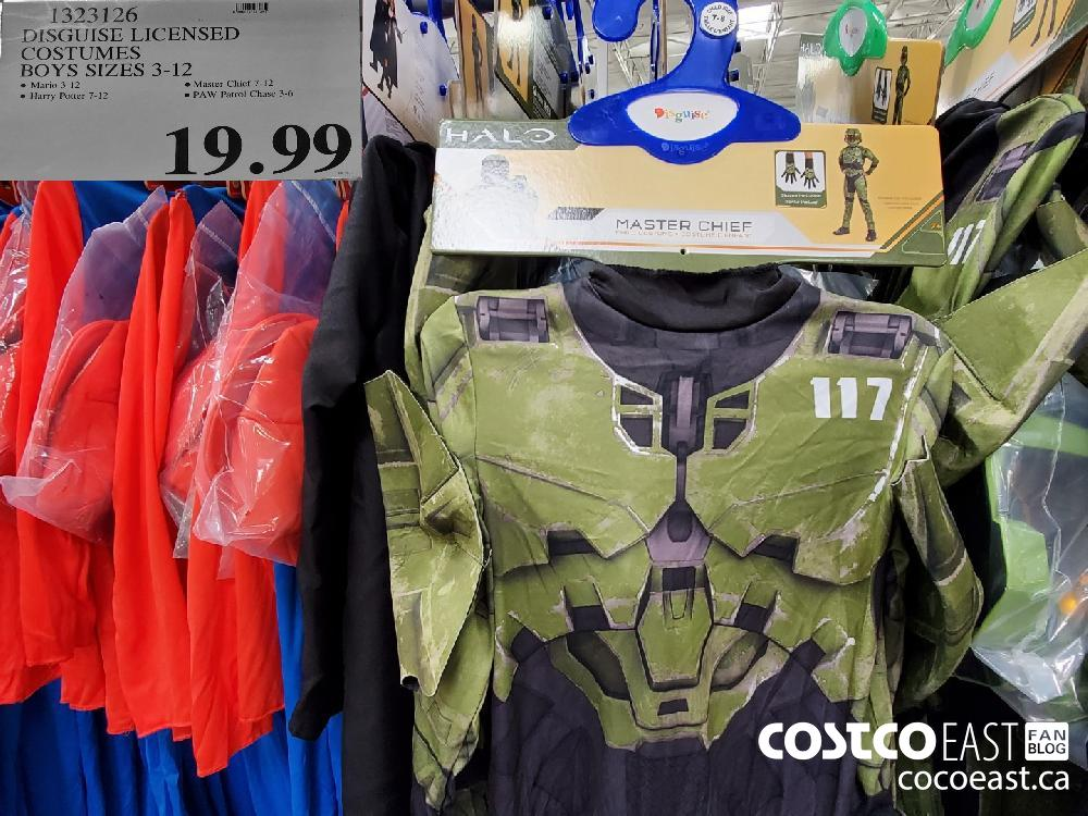 1323126 DISGUISE LICENSED COSTUMES BOYS SIZES 3-12  $19.99
