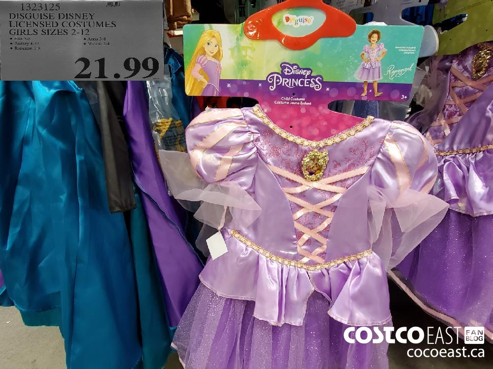 13232105 DISGUISE DISNEY LICENSED COSTUMES GIRLS SIZES 2-12  $21.99