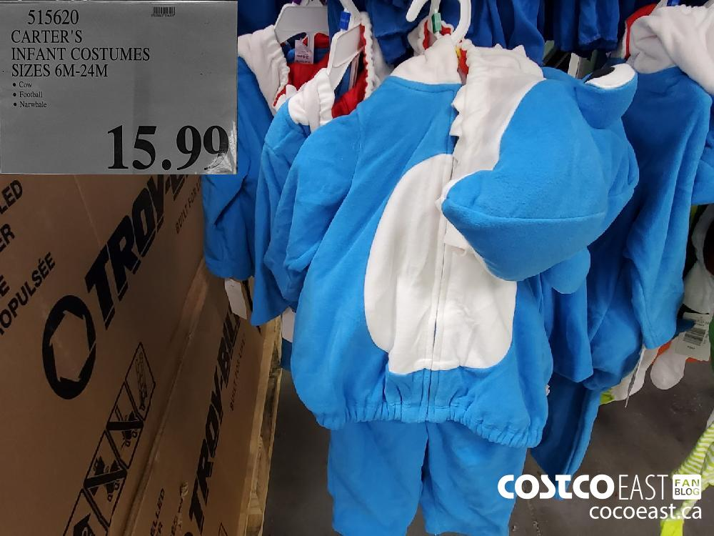 512620 CARTER'S INFANT COSTUMES SIZES 6M-24M  $15.99